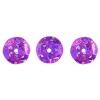 Sequins Round 10mm Aprx 450pcs Hologram Hot Pink